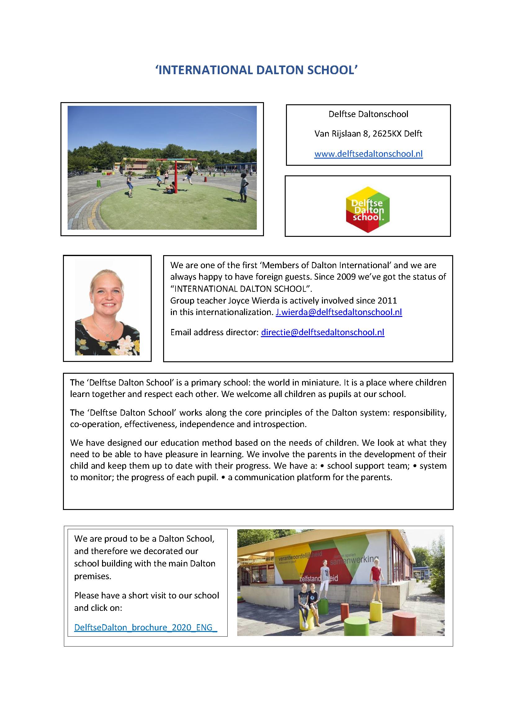 10 Delftse Daltonschool AS 'INTERNATIONAL DALTON SCHOOL'