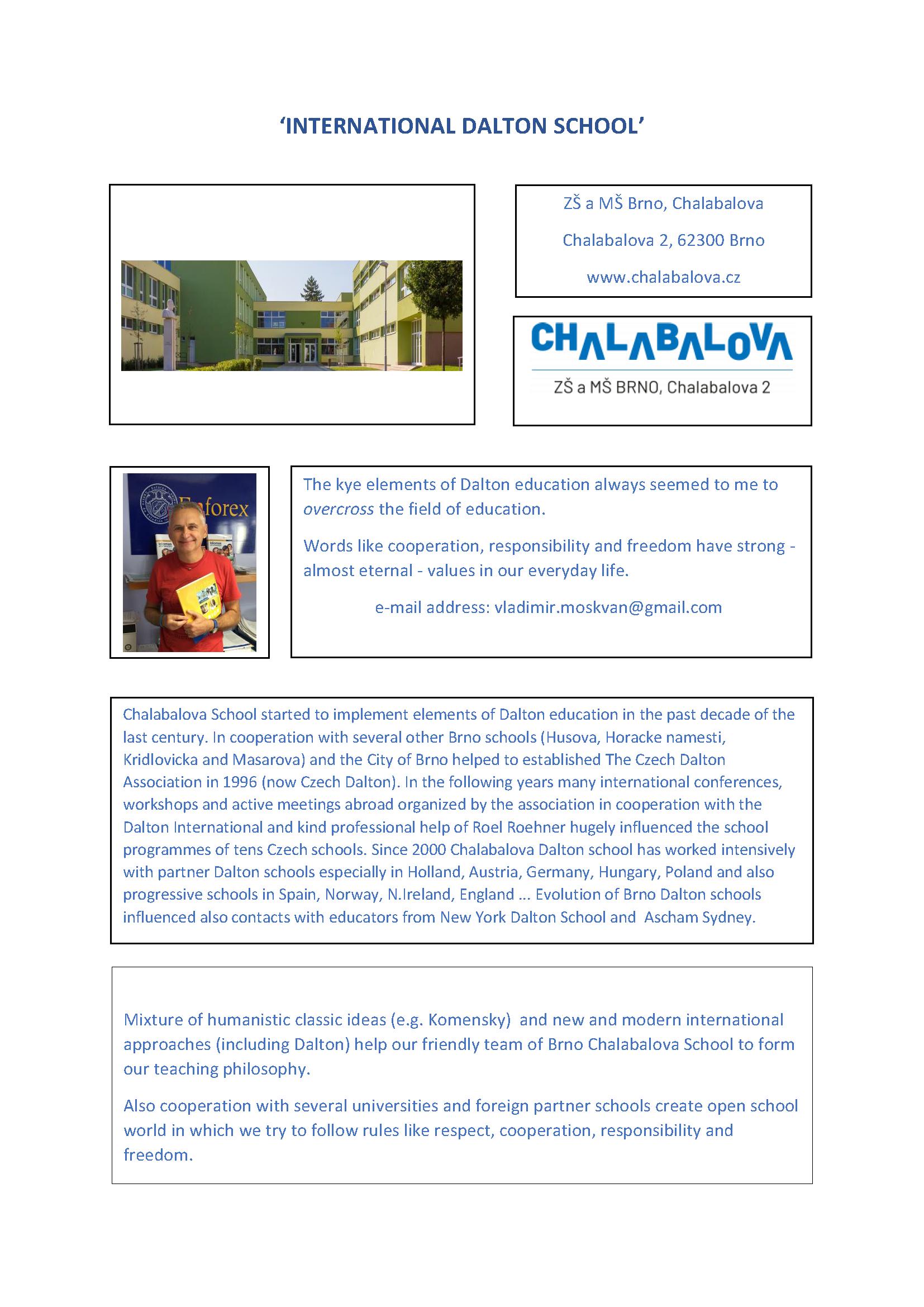 5. CHALABALOVA DALTON SCHOOL - INFO website DALTON INT