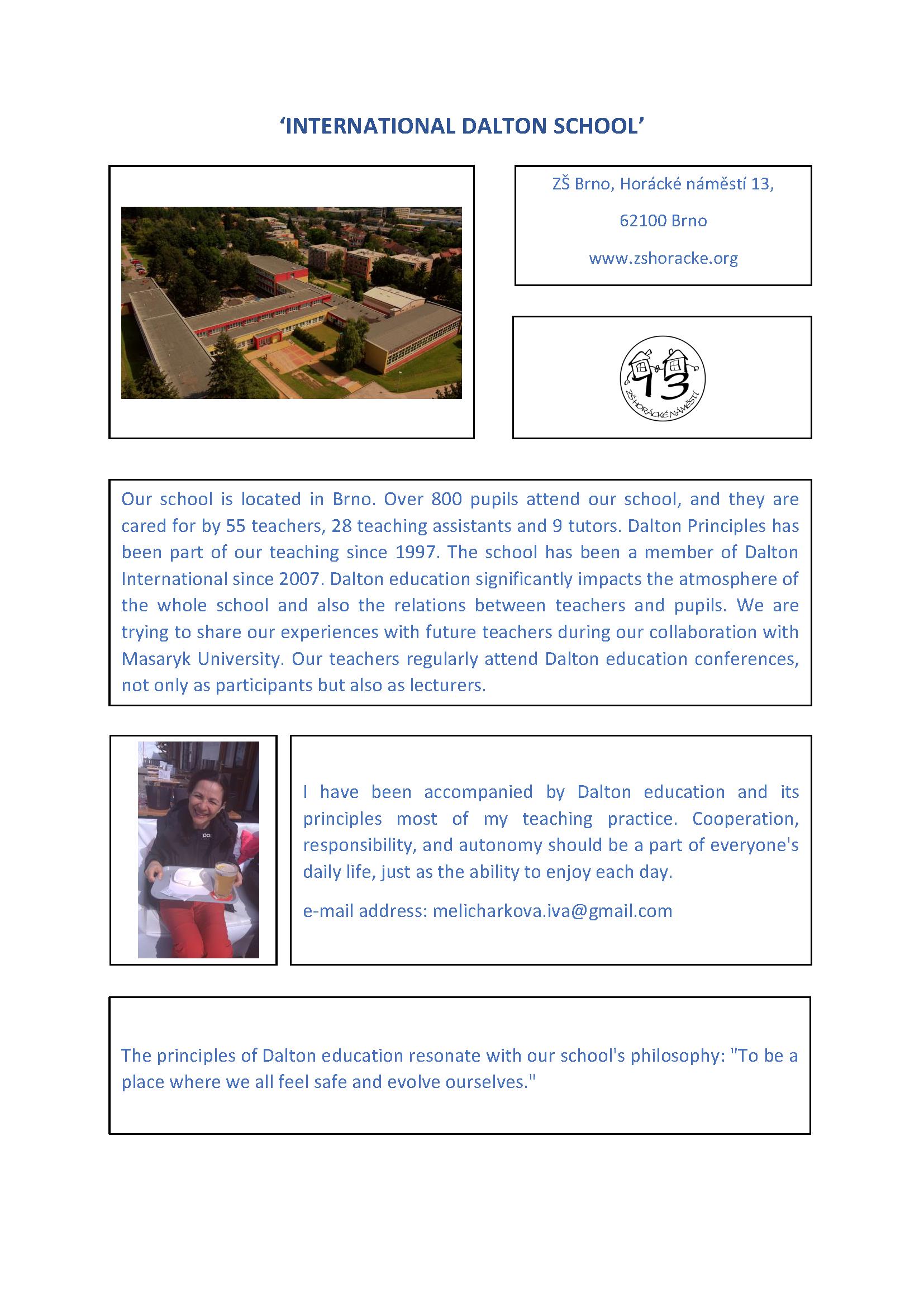8. HORACKE NAMESTI DALTON SCHOOL - INFO website DALTON INT-2